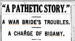 Bigamy headline